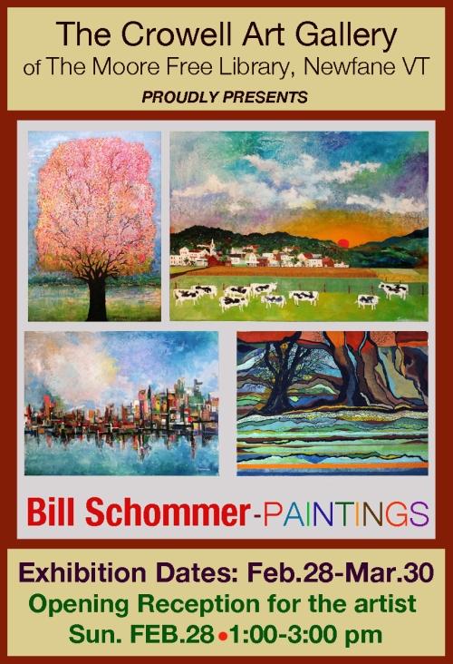 Bill Schommer FLATPost Card2